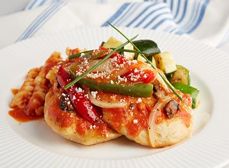 Low carb Chicken Cacciatore From Top Chef Meals