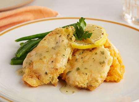 Low Carb Top Chef Meals Chicken Francaise