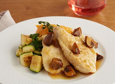 Low Carb Top Chef Meals Chicken Marsala Recipe, meal delivery