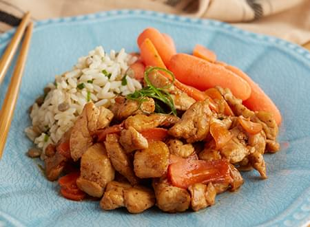 Low Carb Top Chef Meals Oriental Chicken