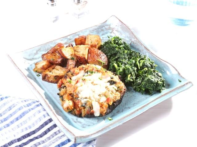 Vegetable Stuffed Portabella Mushroom Details