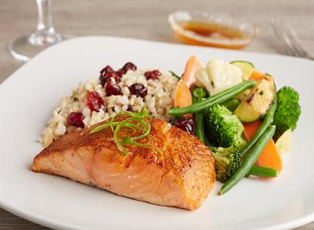 Top Chef Meals Seared Salmon with Brown Butter Sauce