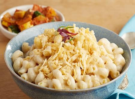 Vegetarian Smoked Gouda Mac n Cheese