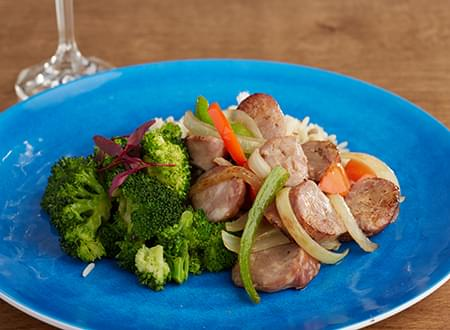 Top Chef Meals Sweet and Savory Sausage and Peppers