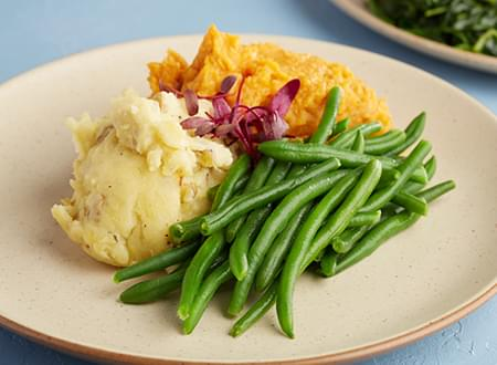 Top Chef Meals Three Sider Vegetarian Meal