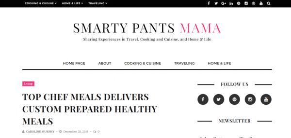 Smarty Pants Mama Blog Article
