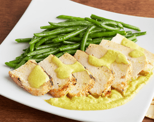 KETO: Curry Chicken with Green Beans