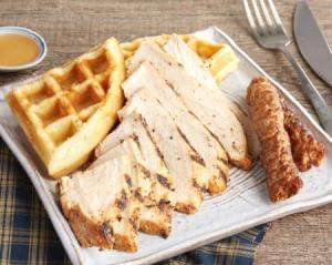 Grilled Chicken & Waffles (P)