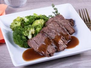 Keto Braised Boneless Beef Short Rib for meal prep