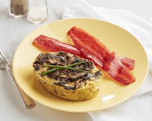 Mushroom and Egg Frittata (P)