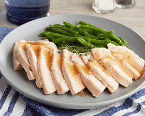 KETO: Roasted Turkey Breast and Green Beans