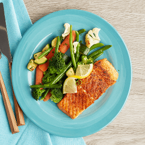 Seared Paleo Salmon (P)