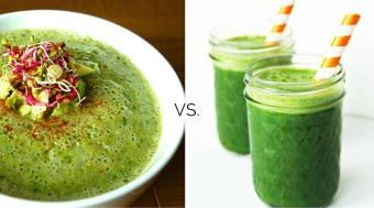 Souping vs. Juicing