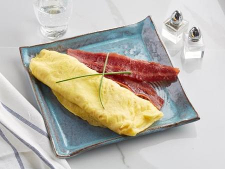 Plain Whole Eggs Omelet