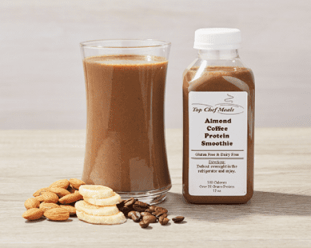 Coffee Almond Protein Smoothie
